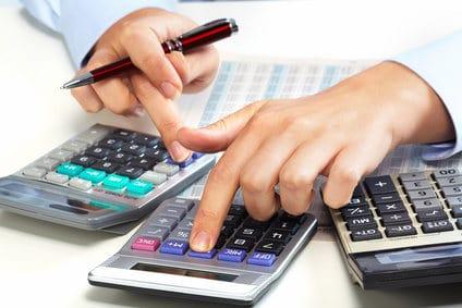 odliczenia na kalkulatorach